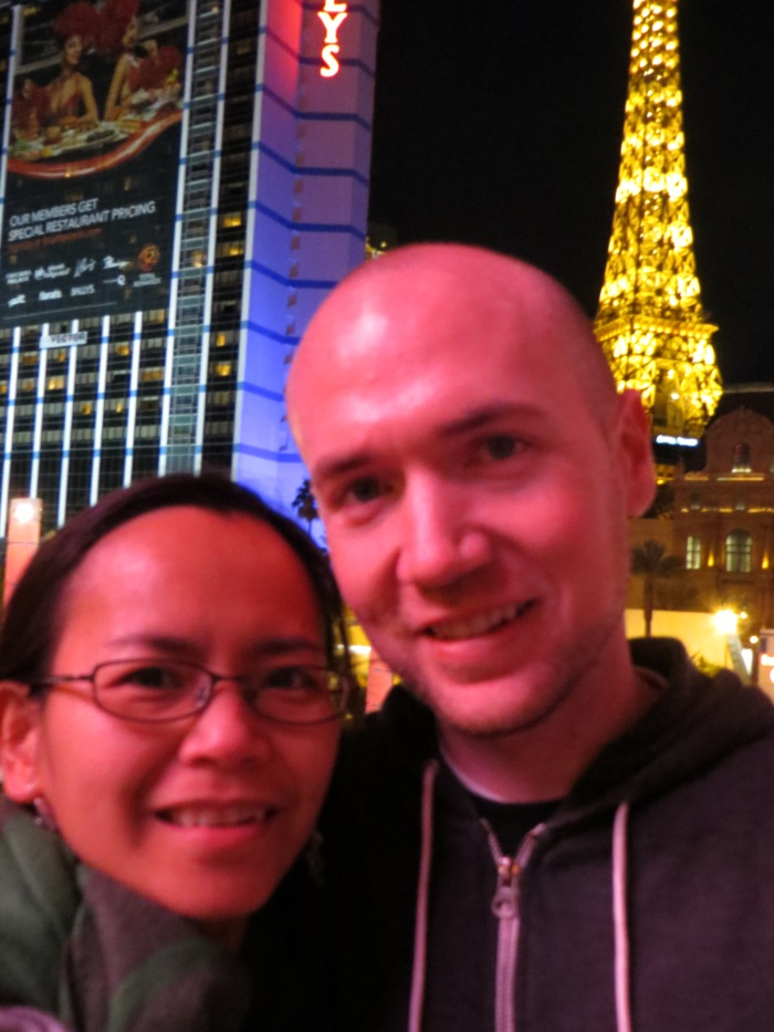 In front of Paris
