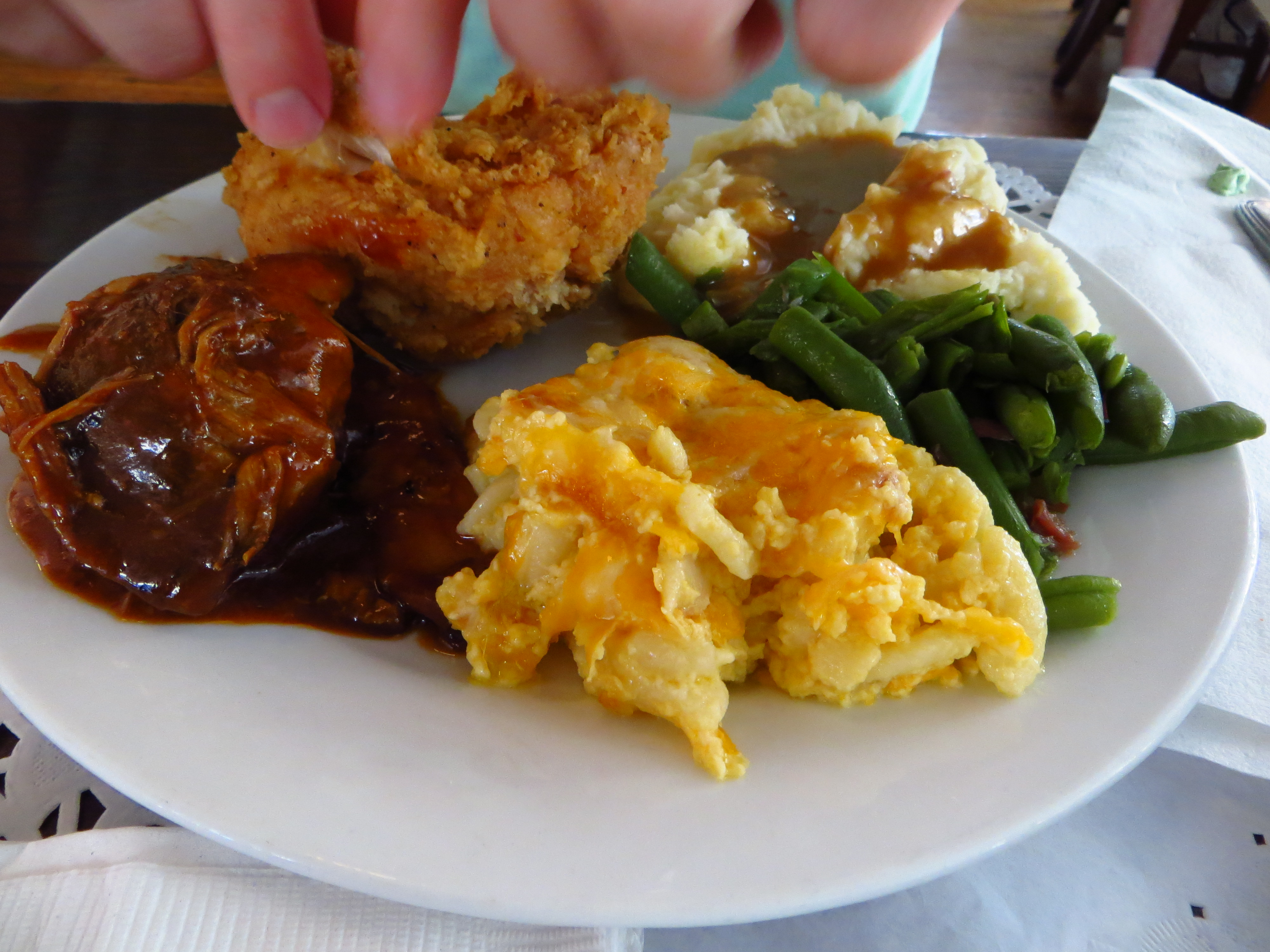 Southern cookin'